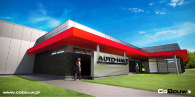 Druga budowa hali produkcyjnej dla firmy Auto-Hak S.j.