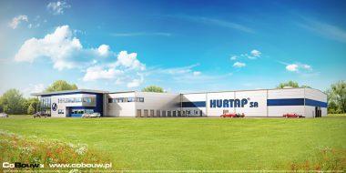 Budowa hali magazynowej z budynkiem socjalno-biurowym dla Hurtap S.A.