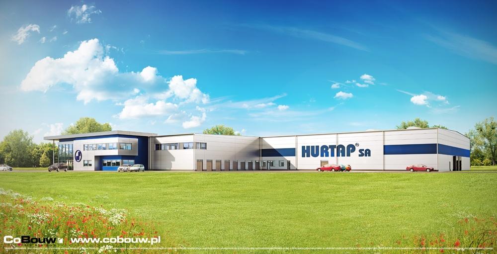 Budowa hali magazynowej z budynkiem socjalno-biurowym dla Hurtap SA