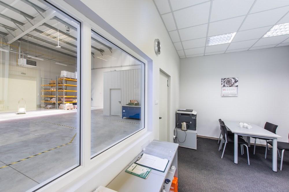zaplecze biurowe 1 - hala produkcyjna z częścią socjalno-biurową, dla Danmar, Łódź, woj. łódzkie
