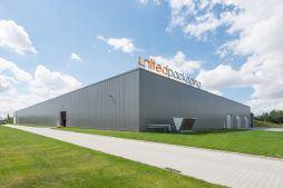 hala stalowa 2 - hala produkcyjna z budynkiem biurowym, dla Uniservice, Skarbimierz, woj. Opolskie