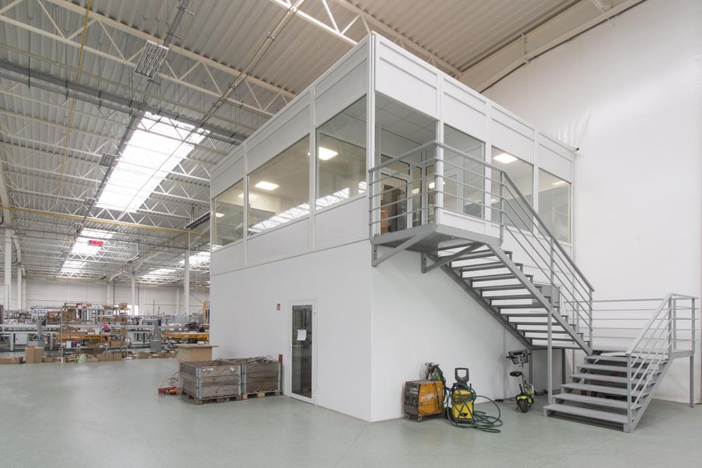 zaplecze techniczne - hala produkcyjna z budynkiem biurowym, dla Adams, Mrągowo, woj. warmińsko-mazurskie