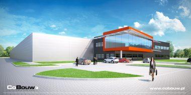 Kompleksowa realizacja hali produkcyjno-magazynowej dla Vivenge Sp. z o.o.