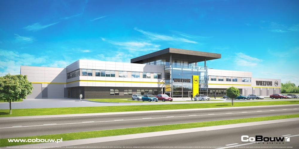 Budowa dla firmy Wielton SA