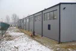 jedna z elewacji - rozbudowa hali produkcyjnej, dla OML Morando, Czerwionka-Leszczyny