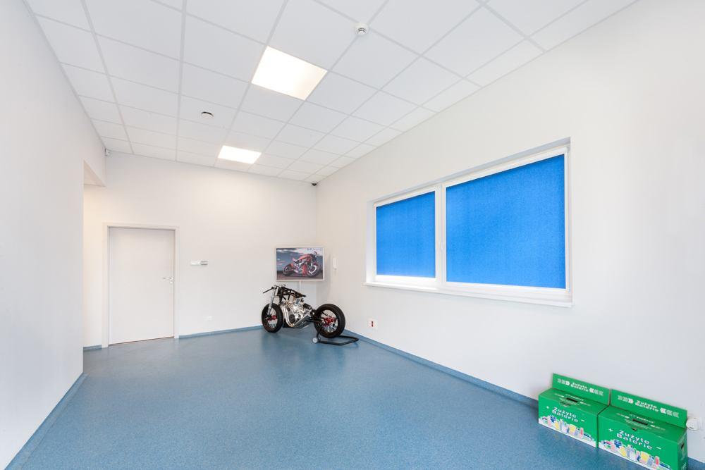 korytarz 1 - hala produkcyjna z częścią biurową, dla GG Tech, Piątek, woj. łódzkie