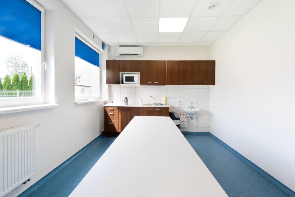 pomieszczenie socjalne 2 - hala produkcyjna z częścią biurową, dla GG Tech, Piątek, woj. łódzkie