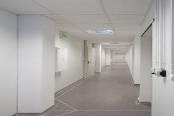 korytarz- hala produkcyjna z budynkiem biurowym, dla NWM, Gubin, woj. lubuskie