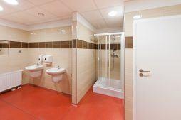 pomieszczenie sanitarne 1 - hala produkcyjna z częścią biurową, dla BioMaxima, Lublin, woj. lubelskie