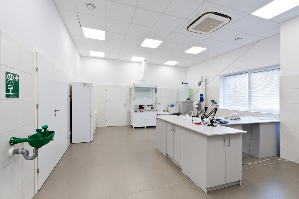 labolatorium 1 - hala produkcyjna z częścią biurową, dla BioMaxima, Lublin, woj. lubelskie