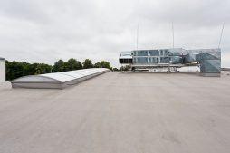 dach - hala produkcyjna z budynkiem biurowym, dla El-press, Lublin, woj. lubelskie