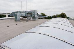 świetliki dachowe - hala produkcyjna z budynkiem biurowym, dla El-press, Lublin, woj. lubelskie