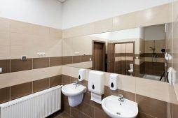 pomieszczenie sanitarne - hala produkcyjna z budynkiem biurowym, dla El-press, Lublin, woj. lubelskie