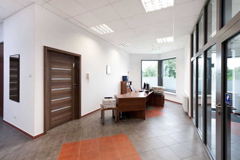 pomieszczenie biurowe - hala produkcyjna z budynkiem biurowym, dla El-press, Lublin, woj. lubelskie