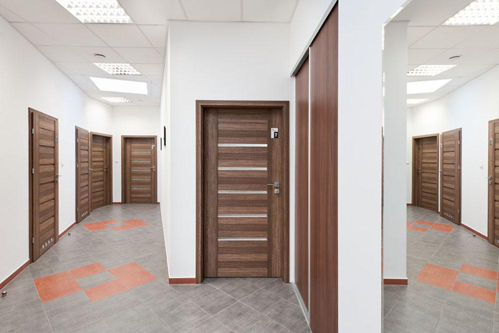 korytarz 1 - hala produkcyjna z budynkiem biurowym, dla El-press, Lublin, woj. lubelskie