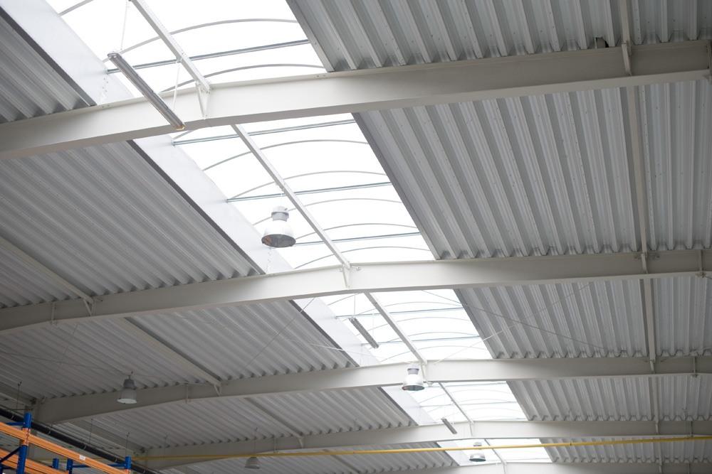 profile zimnogięte - hala produkcyjna z budynkiem biurowym, dla Blyweert Aluminium, Czosnów, woj. mazowieckie