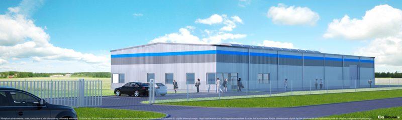 Budowa hali dla firmy GG Tech