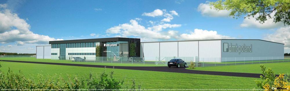Budowa hali produkcyjno-magazynowej dla Duomat 2