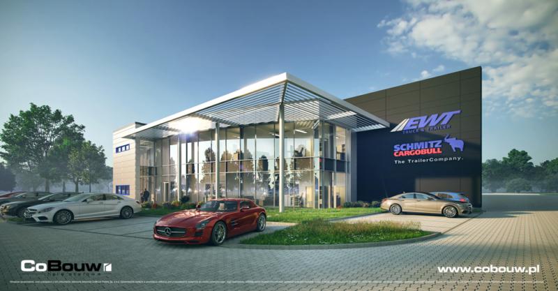 Generalne wykonawstwo inwestycji dla EWT Truck & Trailer Handels GmbH
