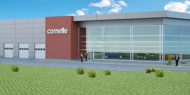 Kolejna hala dla firmy Cornette