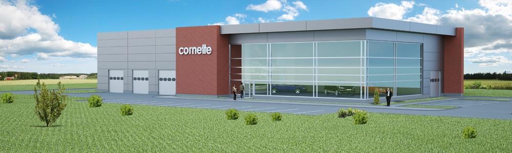 Trzecia hala produkcyjna dla firmy Cornette Underwear