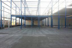 konstrukcja szkieletowa - hala produkcyjna z budynkiem biurowym, Żdżary, dla Futrex