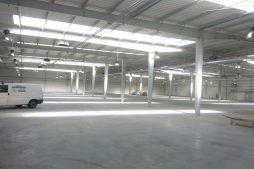 wnętrze obiektu 1 - hala produkcyjna, dla Auto-Hak, Słupsk, woj. pomorskie