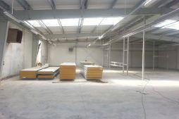 wnętrze obiektu 1 - hala produkcyjno-magazynowa, dla Drewco, Chojna, woj. zachodniopomorskie