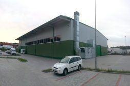 widok ogólny 14 - hala produkcyjna z częścią biurową, dla Markos, Słupsk, woj. pomorskie