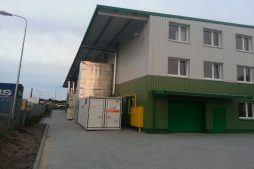 zaplecze technologiczne 2 - hala produkcyjna z częścią biurową, dla Markos, Słupsk, woj. pomorskie