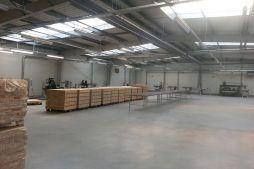 wnętrze obiektu 3 - hala produkcyjno-magazynowa, dla Drewco, Chojna, woj. zachodniopomorskie