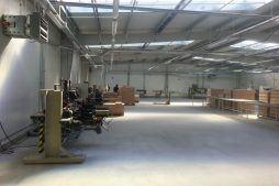 wnętrze obiektu 8 - hala produkcyjno-magazynowa, dla Drewco, Chojna, woj. zachodniopomorskie