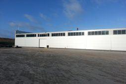 prace wykończeniowe - hala produkcyjna z częścią biurową, dla Leann Stańczyk, Słupsk, woj. pomorskie