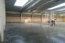 prace wykończeniowe wewnętrzne 3 - hala produkcyjna z częścią biurową, dla Leann Stańczyk, Słupsk, woj. pomorskie
