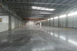 wnętrze obiektu - hala produkcyjna z częścią biurową, dla Leann Stańczyk, Słupsk, woj. pomorskie