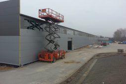 prace wykończeniowe elewacyjne 1 - hala produkcyjna z częścią biurową, dla Leann Stańczyk, Słupsk, woj. pomorskie