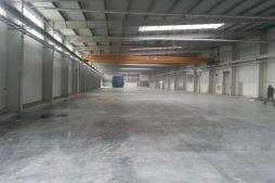 wnętrze obiektu 1 - hala produkcyjna z częścią biurową, dla Leann Stańczyk, Słupsk, woj. pomorskie