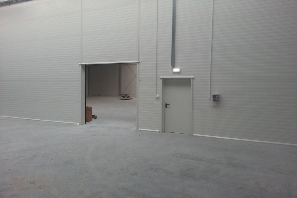 wnętrze obiektu 2 - hala produkcyjna z częścią biurową, dla Leann Stańczyk, Słupsk, woj. pomorskie