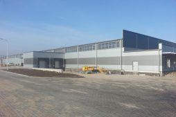 prace wykończeniowe elewacyjne 2 - hala produkcyjna z częścią biurową, dla Leann Stańczyk, Słupsk, woj. pomorskie