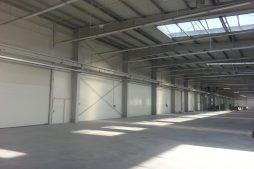 wnętrze budynku 5 - hala produkcyjna z częścią biurową, dla Leann Stańczyk, Słupsk, woj. pomorskie