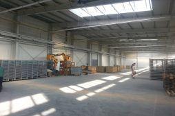 wnętrze budynku 6 - hala produkcyjna z częścią biurową, dla Leann Stańczyk, Słupsk, woj. pomorskie