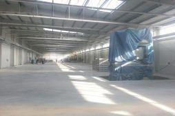 wnętrze budynku 8 - hala produkcyjna z częścią biurową, dla Leann Stańczyk, Słupsk, woj. pomorskie
