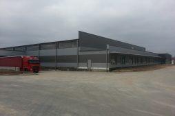 prace wykończeniowe elewacyjne 5 - hala produkcyjna z częścią biurową, dla Leann Stańczyk, Słupsk, woj. pomorskie
