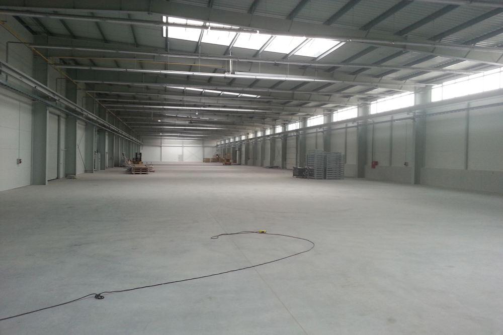 wnętrze obiektu 5 - hala produkcyjna z częścią biurową, dla Leann Stańczyk, Słupsk, woj. pomorskie