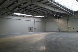 wnętrze budynku - hala produkcyjna z częścią biurową, dla Leann Stańczyk, Słupsk, woj. pomorskie