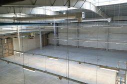 widok z góry 1 - hala produkcyjna z częścią socjalną, dla Marva International, Poznań, woj. wielkopolskie