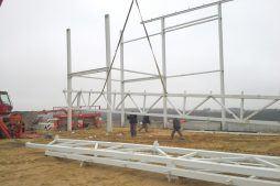 elementy konstrukcji stalowej 2 - sortownia i przechowalnia owoców z częścią biurową, dla Gaik, Witalówka