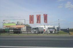 baner reklamowy - sortownia owoców, dla Gaik, Witalówka, woj. mazowieckie