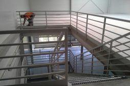 prace wykończeniowe wewnątrz budynku - sortownia owoców, dla Gaik, Witalówka