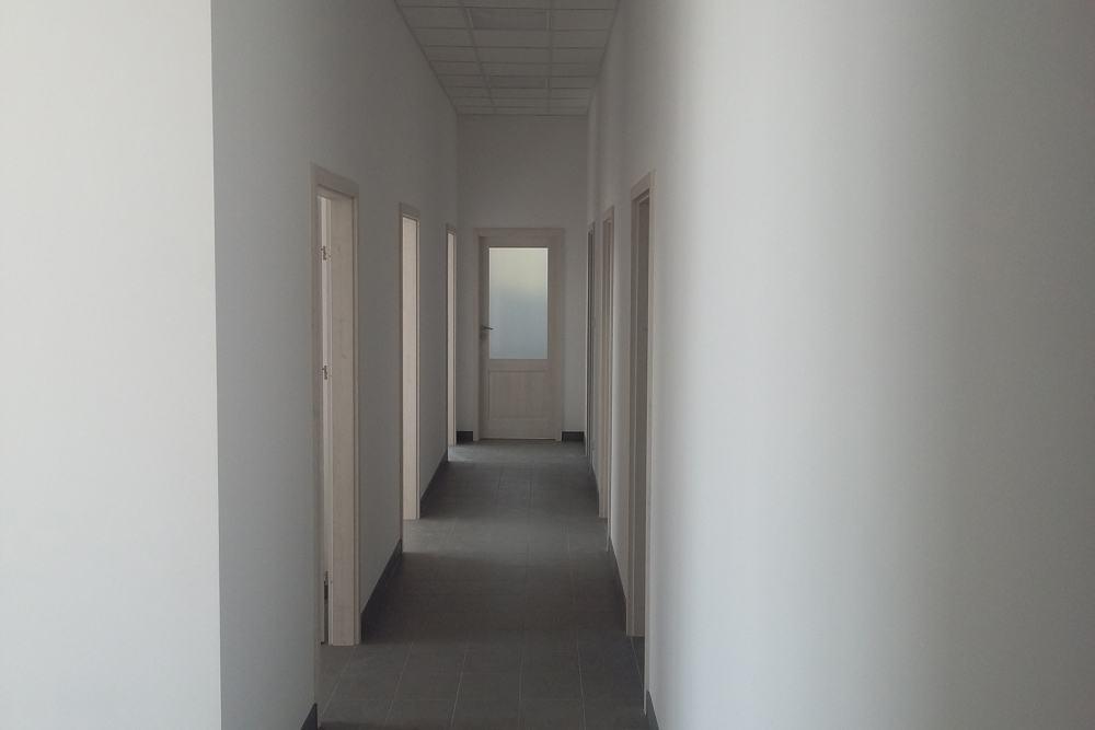 pomieszczenie wewnętrzne - budynek socjalno-biurowy, firma Van Den Block, Lublew Gdański